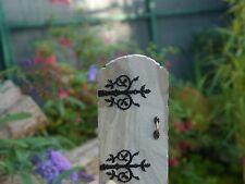 * Real Stone Ornate Miniature Fairy Door for Fairies, Elves & Pixies! *