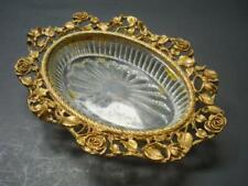 Vintage Matson Rose Gold Hollywood Regency Vanity Soap Dish