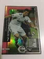 CARD WCCF LIGA 2010-11 PANINI JAPON REAL MADRID CRISTIANO RONALDO CR7 ESPECIAL