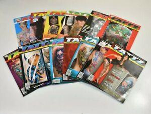Tattz Tattoo Revival 13x Magazine Vol 1 - 13 Ink Art Free Postage