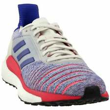 Adidas Solar Glide Boost Running Shoes B96288 Red/Blue Womens Size 5.5,6,7.5