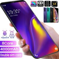 """5.8"""" Note10+ Smart Mobile Phone 4G+64GB Dual SIM Android 9.1 Face ID Unlocked"""