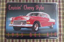 Bel Air 1955 Metal Sign Painted Poster Book Wall Decor Shop Art Garage Club 2