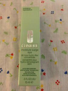 Clinique Moisture Surge Eye 96 hour Hydro-filler Concentrate  .5 oz 15 ml Fresh