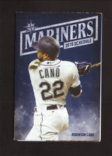 Robinson Cano--2018 Seattle Mariners Pocket Schedule--Coors Light