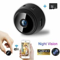 Mini SpyCam Wireless Wifi Night Vision Camera IP Home Security HD 1080P DVR