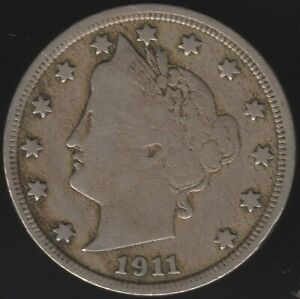 1911 U.S.A.Liberty Nickel   World Coins   Pennies2Pounds