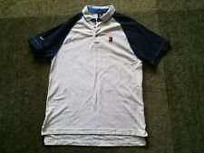 Nike vintage tennis polo shirt RF Roger Federer size M 1999