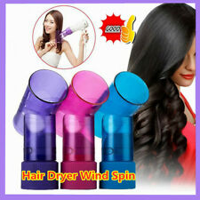 Hair Dryer Attachment Magic Curls Diffuser Wind Spin Roller Fast And Easy Use√