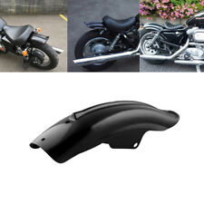 Motorcycle Black Rear Mudguard Fender Accessory For Bobber Cafe Racer 1994-2003