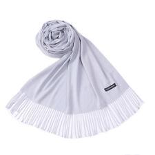 Women Solid Long Warm Winter Cashmere Pashmina Scarf Wrap Shawl Tassel Stole
