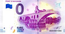 84 AVIGNON Pont, 2018, Billet 0 € Souvenir