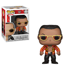 Funko Pop! WWE - The Rock  #46 great looking Pop comes with Glasses