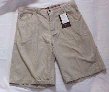 Browning Casual Sportswear Size 36 Beige New Men's Shorts