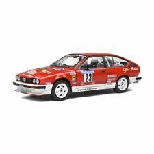 Solido Alfa Romeo GTV6 1985 Tour de Corse #23 - Yves Loubet et Jean-Bernard Vieu Echelle 1:18 Voiture Miniature - Rouge (S1802306)