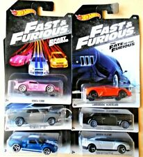 Hot Wheels  Serie Fast & Furious 1/6 Completa