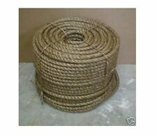 "5/8"" Nautical MANILA ROPE CUT TO LENGTH $ .30 per foot Crafts Work Farm Dock NEW"