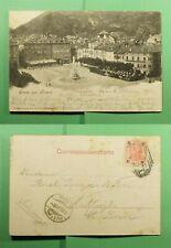 Dr Who 1901 Austria Gruss Aus Bozen Postcard To Switzerland f53008