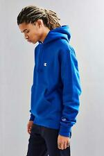 NEW great gift ROYAL BLUE CHAMPION REVERSE WEAVE HOODIE W/ LOGO *medium m*