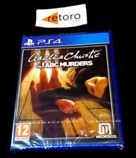 AGATHA CHRISTIE THE ABC MURDERS Sony Playstation PS4 PAL España NUEVO Precintado