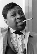 """BB KING 11""""x16.5"""" Photograph by Baron Wolman, SIGNED"""