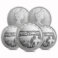 Sheet of 5 - 2017 10 oz Silver Canada the Great CTG Niagara Falls $50 Coin (Lot