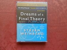 Audio Book Cassette - Dreams Of A Final Theory - Steven Weinberg