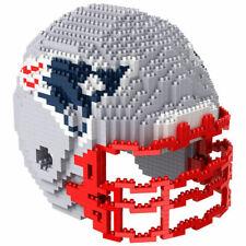 NFL New England Patriots 3D BRXLZ Puzzle Helm Helmet Set Football Footballhelm