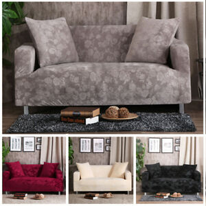 Universal 1/2/3/4 Seater Stretch Sofa Slip Covers Couch Furniture Protector Home