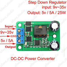 DC Converter Step-down Voltage Regulator Power Supply Module 9~35v to 5v 5A 25W