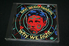 John Wesley Harding : Why We Fight Promo  CD (1992) First Pressign OUT OF PRINT