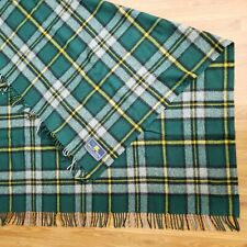 Scottish Highland Tartan Tweed Wool Travel Rug Blanket Cape Breton Island Canada