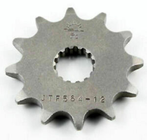 12T 520 Front Sprocket for 1987-2004 Yamaha YZ125 / 1992 WR200  JTF564.12