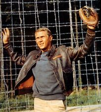 THE GREAT ESCAPE STEVE MCQUEEN AS HILTS GREAT PHOTO