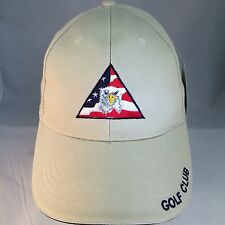 GOLF CLUB LOGO GOLF HAT-NEW WITH TAGS-EAGLE WITH STARS AND STRIPES