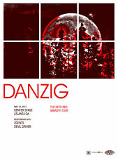 Danzig May 2011 Limited Edition Gig Poster