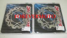 BRAKING 2 DISCHI FRENO ANTERIORE WAVE PIAGGIO X9 EVOLUTION 500 2006 2007