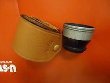 Vintage Alpex Aux/Auxiliary Wide-Angle Lens Original Leather Case Ricoh