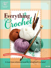 Everything Crocket Afghans Sweater Skirts Basics & Beyond Crochet Pattern Book