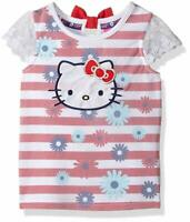 Hello Kitty Girls' Striped Sleeveless Top Size 2t