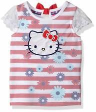 Hello Kitty Girls' Striped Sleeveless Top Size 2t
