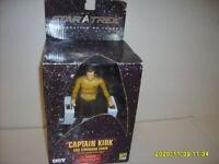 STAR TREK Captain Kirk Command Chair Action Figure Diamond Select Comic Con NEW