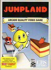 JUMPLAND for Colecovision / ADAM Cart. - CIB / SUPER GAME MODULE REQUIRED