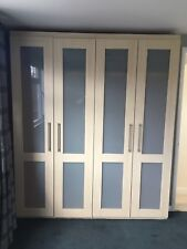 Double Wardrobes X 2 - Ash Colouring