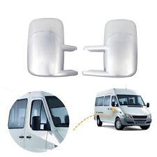 MERCEDES Sprinter Specchietto Laterale Coprire Cap Cromato Sinistra & Destra (non si adatta a UK Van)