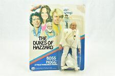 "Mego Boss Hogg Dukes of Hazzard 8"" Figure on Card 1981 Poseable"