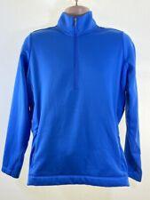NIKE mens light blue golf sweatshirt  tour performance size XL fits L Large