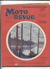 Moto Revue N°357  ; 11  janvier 1930  :  le bloc moteur Staub 500 cmc