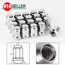 20pcs Chrome 12x1.5 Acorn Wheel Lug Nuts for Chevy Cruze Equinox Cobalt HHR S10