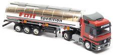 AWM AMW MB Actros citerne semi-remorque camion citerne Föll Transporteur Möglingen 1:87 h0